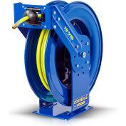 "Coxreels TSH-N-4100HV 1/2""x100' 300PSI Hi-Vis Supreme Duty Spring Retractable Low Pressure Hose Reel"