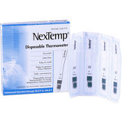 NexTemp 62776 Disposable Thermometer 100/Box
