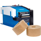 """Global Industrial™ Electronic Tape Dispenser For 1/2"""" - 3"""" Kraft Tape With Free Case Of Tape"""