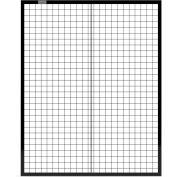 Global Industrial™ Machine Wire Guard Panel, 4'W, Black