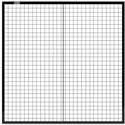 Global Industrial™ Machine Wire Guard Panel, 5'W, Black