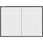 Global Industrial™ Machine Wire Guard Panel, 7'W, Black