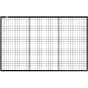 Global Industrial™ Machine Wire Guard Panel, 8'W, Black
