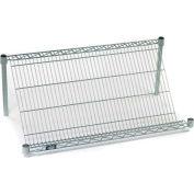 """Nexel® SS1836C Chrome Slant Wire Shelf 36""""W x 18""""D"""