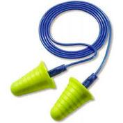 3M™ 318-1009 E-A-R™ Push-Ins͊ Corded Earplugs w/Grip Rings, 200 Pairs