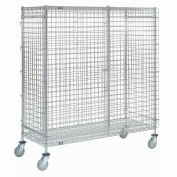 Nexel® Wire Security Storage Truck 60 x 24 x 69 1200 Lb. Capacity