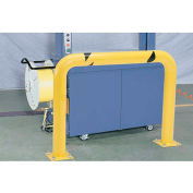 "Global Industrial™ Machinery Guard Round 24""H x 48""L"