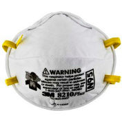 3M™ 8210PLUS N95 Particulate Respirators, Box of 20