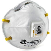 3M™ 8210V N95 Disposable Particulate Respirator, 10/Box
