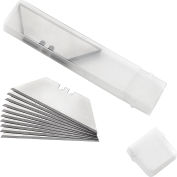 Global Industrial™ Replacement Steel Utility Blades, 20/Pack