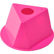 Inventory Control Cone - Hot Pink