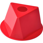 Global Industrial™ Inventory Control Cone, Red