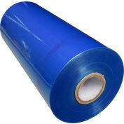 "Global Industrial™ Machine Length Stretch Wrap Film, 80 Gauge, Cast, 20"" x 5000', Blue Tint"