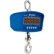 Global Industrial™ LED Digital Crane Scale With Remote, 1,000 lb x 0.2 lb