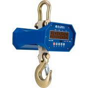 Global Industrial™ Heavy Duty LED Digital Crane Scale With Remote, 6,000 lb x 1 lb