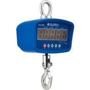 Global Industrial™ LED Digital Crane Scale With Remote, 500 lb x 0.2 lb
