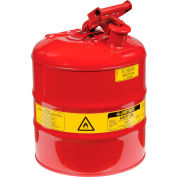 Safety Can Type I - Five Gallon Galvanized Steel, 7150100