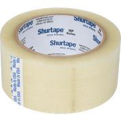 Ruban pour fermer les boîtes de carton Shurtape® HP100,2 po x 110 verges, 1,6 mil, transparent, qté par paquet : 36