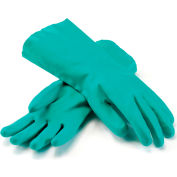 PIP Unlined Unsupported Nitrile Gloves, 15 Mil, Green, L, 1 Pair - Pkg Qty 12