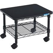 """Interion® Under-Desk Wire Machine Stand, 19""""W x 16""""D x 13-1/2""""H, Black"""