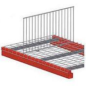 "Global Industrial™ Pallet Rack Wire Deck Divider, 40""D x 18""H"