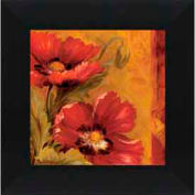 """Crystal Art Gallery - Pandora's Bouquet 1 - 20""""W x 20""""H, Straight Fit Framed"""