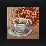 "Crystal Art Gallery - Coffee Brew 2 - 16""W x 16""H, Straight Fit Framed"