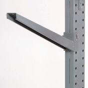 """Piétement luge Rack incliné bras (série 2000), 24"""" L, capacité de 1200 Lbs"""