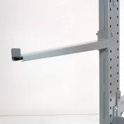 """Cantilever bras droite avec 2 Inch pour les lèvres (série 2000), 48"""" L, capacité de 1500 Lbs"""