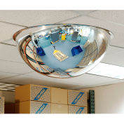 """Full Dome Acrylic Mirror, Indoor, 25-1/2"""" Dia., 360° Viewing Angle"""