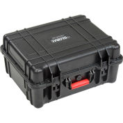 """Global Industrial™ Waterproof Hard Case w/Pinched Tear Foam 20""""L x 16-3/4""""W x 9-7/16""""H, Black"""