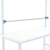 "Global Industrial™ Steel Reel Holder For Workbench, 72""W"