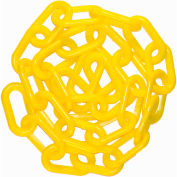"Mr. Chain 50002-100, 2"" Plastic Chain, Yellow"