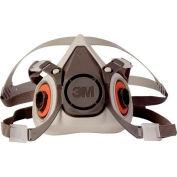 3M™ demi masque réutilisable respirateur 6100/07024(AAD), 1 petite, chaque