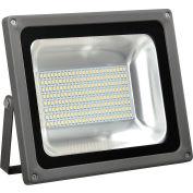 Global Industrial™ LED Flood Light, 100W, 10000 Lumens, 5000K, w/Mounting Bracket
