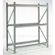 """Global Industrial™ Extra High Capacity Bulk Rack Without Decking 60""""W x 18""""D x 72""""H Starter"""