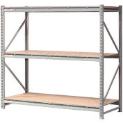 """Global Industrial™ Extra High Capacity Bulk Rack With Wood Decking 60""""W x 24""""D x 72""""H Starter"""