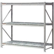 """Global Industrial™ Extra High Capacity Bulk Rack With Wire Decking 72""""W x 24""""D x 72""""H Starter"""
