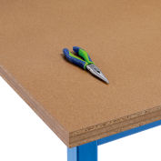 """Global Industrial™ 72""""W x 30""""D x 1-1/2""""H Shop Top Square Edge Workbench Top"""