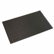 "Apache Mills Soft Foot™ Anti Fatigue Mat 3/8"" Thick 4' x Up to 60' Black"