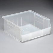 Ultra Stack and Hang Bin QUS235CL 11 x 10-7/8 x 5 Clear - Pkg Qty 6