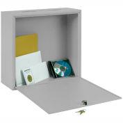 "Sandusky Buddy interservices grand Mail Box 5626-32 - acier - W 18"" x 7 «D x 18» H, Platinum"