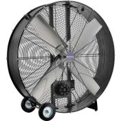 "Global Industrial™ 48"" Portable Drum Blower Fan With Belt Drive, 19500 CFM, 1-1/2 HP"