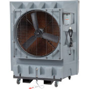 "Global Industrial™ 36"" Evaporative Cooler - Direct Drive - 3 Speed - 32 Gal. Cap. - 120V"