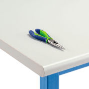 """Global Industrial™ 60""""W x 30""""D x 1-5/8""""H Plastic Laminate Safety Edge Workbench Top"""