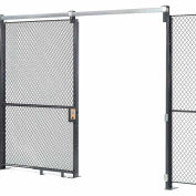 Global Industrial™ Wire Mesh Sliding Gate - 10x5