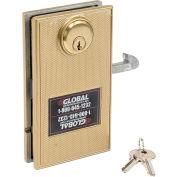 Serrure de porte mortaiséeavec2 clés pour portes coulissantes