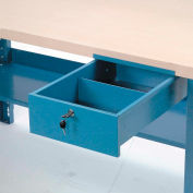 "Global Industrial™ Steel Drawer, 10-3/4""W x 18""D, Blue"