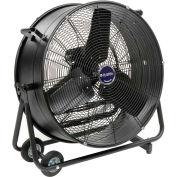 Global Industrial™ ventilateur de souffleur à tambour portable à inclinaison de 24 po, 7700 CFM, 1/3 CH