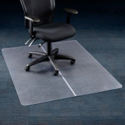 "Interion® Office Chair Mat for Carpet - 36""W x 48""L - Straight Edge"